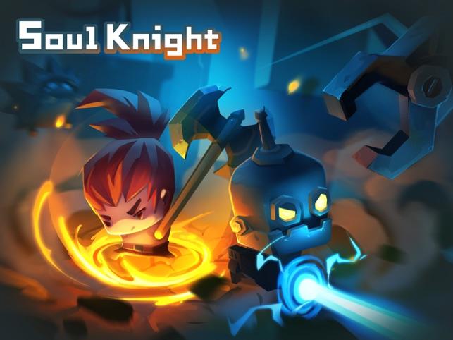 скачать игру soul knight мод много