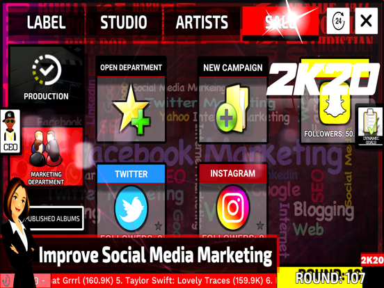 Music Label Manager 2K20 screenshot 15