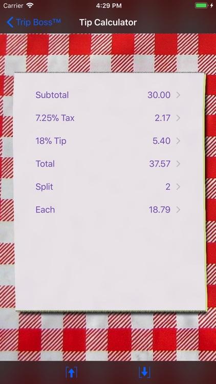 Trip Boss Expense manager screenshot-5