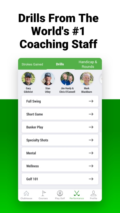 Golf GPS SwingU screenshot-7