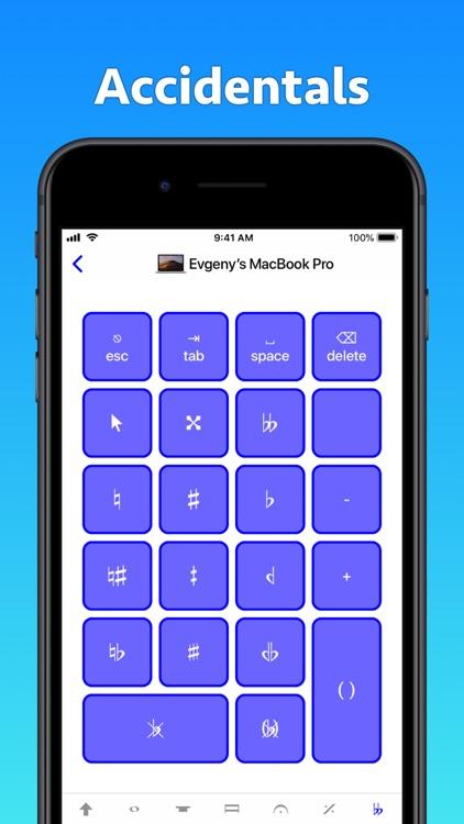 Sibelius KeyPad for Mac screenshot-6