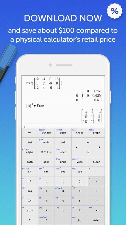 TI 84 Graphing Calculator screenshot-7
