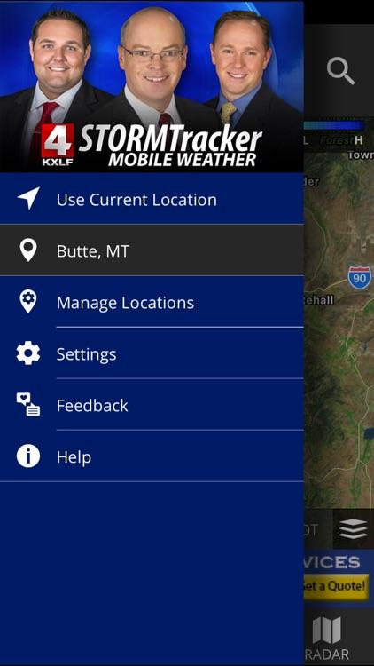 KXLF STORMTracker Weather App screenshot-4