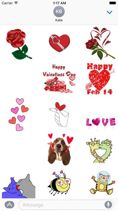 Animated Happy Valentine's Day screenshot 1
