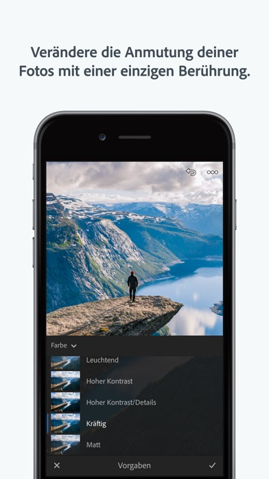 Screenshot for Adobe Lightroom CC in Germany App Store