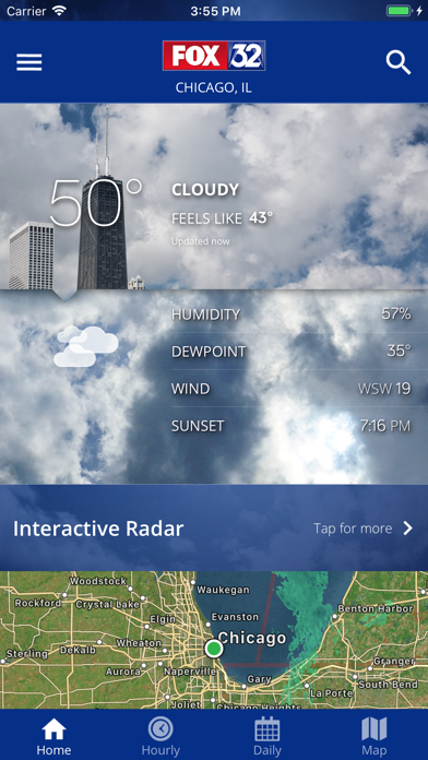 messages.download FOX 32: Chicago Local Weather software