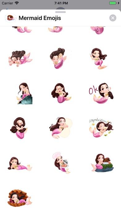 Mermaid Emojis app image