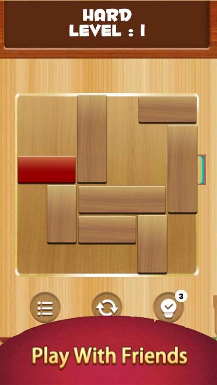 Unblock Wood Escape