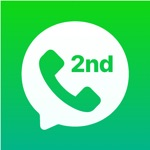 2nd Line Phone Call App & Text