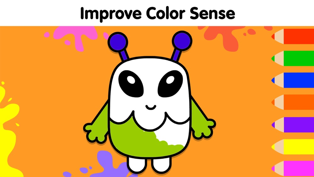 Baby Coloring Games For Kids Free Download App For IPhone - STEPrimo.com