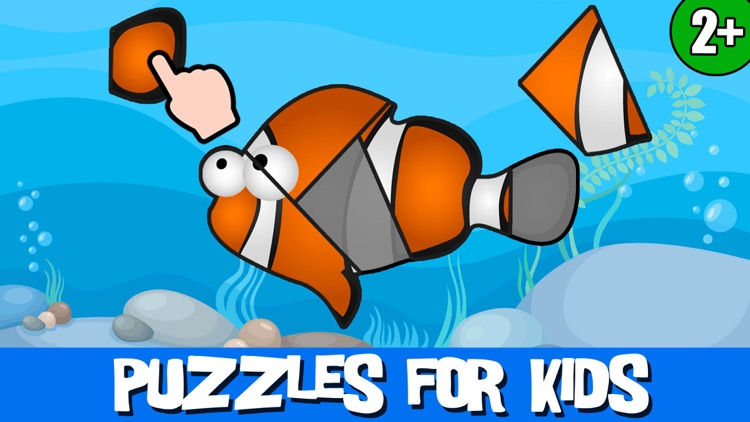 Puzzles Games: Kids & Girls 2+
