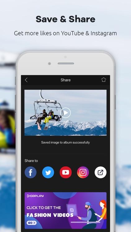 GoPlay Video Editor, Vlog screenshot-4