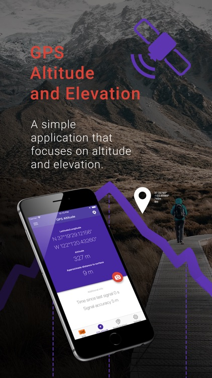 My Altitude and Elevation GPS