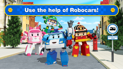 Screen Shot Robocar Poli: Rescue City Cars 2
