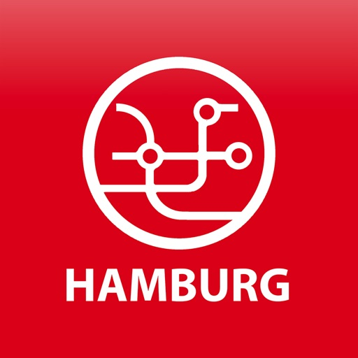 Public transport map Hamburg