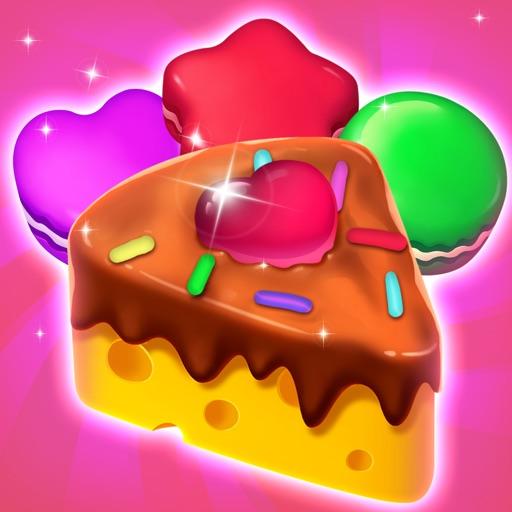Cake Jam Drop - New Match Game icon