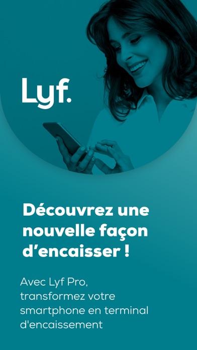 Screenshot #1 pour Lyf Pro Encaissement Mobile