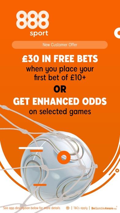 888 Sport: Live Sports Betting screenshot one