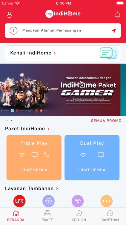 myIndiHome screenshot-0