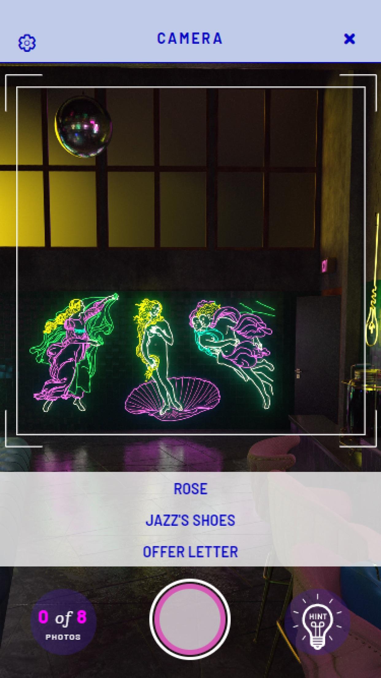 Screenshot do app HoloVista