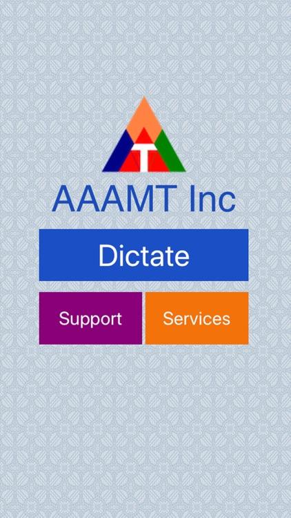 AAAMTdictate screenshot-4