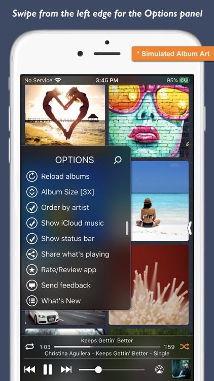 Music Player - Platinum Album screenshot-3
