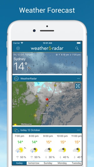 Weather & Radar on the App Store