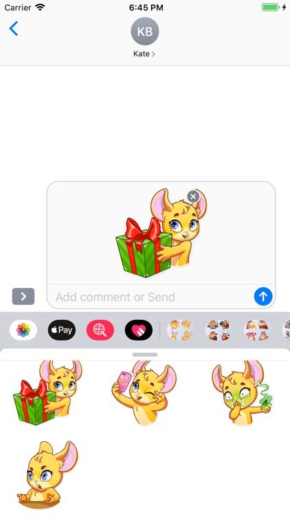 MouseMoji - Stickers Pack screenshot-4