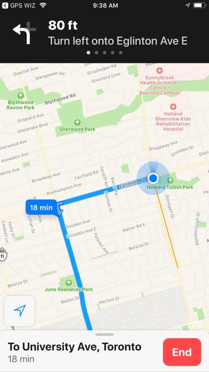 GPS WIZ screenshot-3