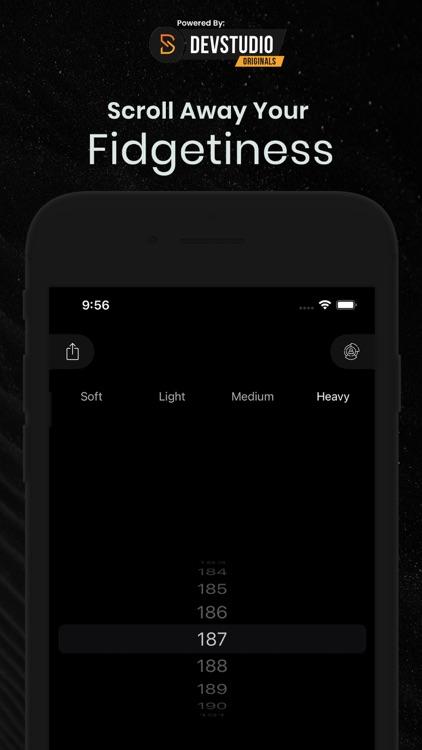 Fidget Widget - Keep Scrolling
