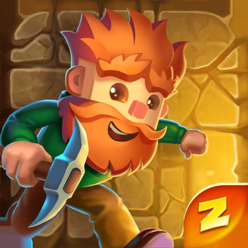 Dig Out!: Gold Miner Adventure icon