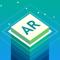 App Icon for Stack AR App in Saudi Arabia IOS App Store