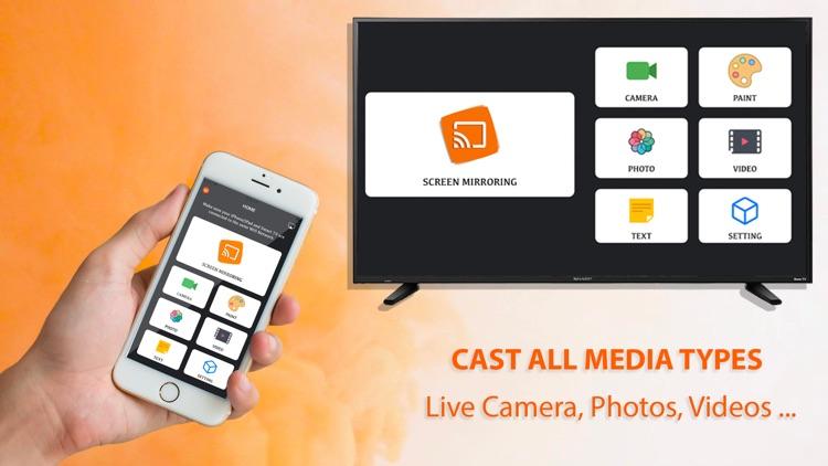 Miracast -Mirror Screen for TV