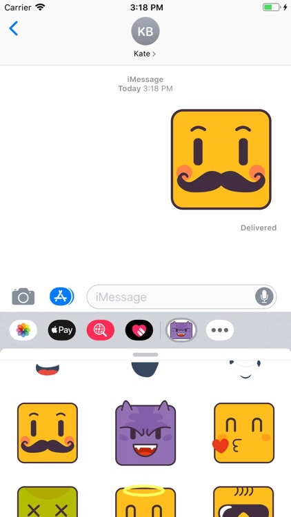 Face Expressions Stickers Pack screenshot-6