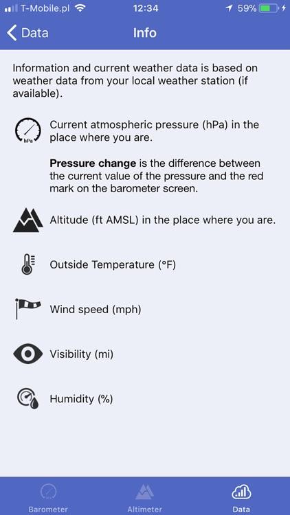 Barometer & Altimeter & Thermo screenshot-4