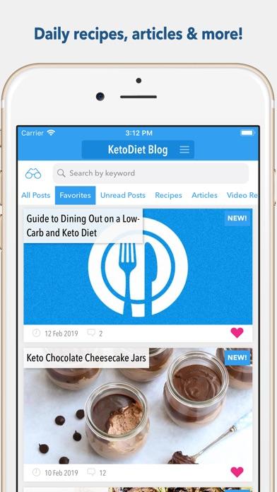 Screenshot for KetoDiet in Belgium App Store