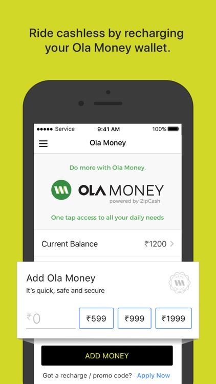 Ola Cabs screenshot-5