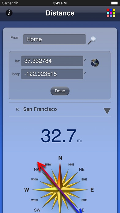 Screenshot for Distance App in Poland App Store
