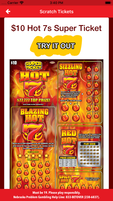 Nebraska Lottery screenshot four