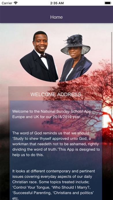 Screenshot for RCCG SSUK 2018 2019 TEACHER in Korea App Store