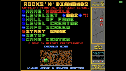Screenshot from Rocks N Diamonds