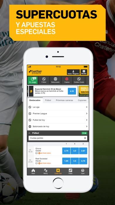 Screenshot for Betfair Sportsbook - Apuestas in Chile App Store