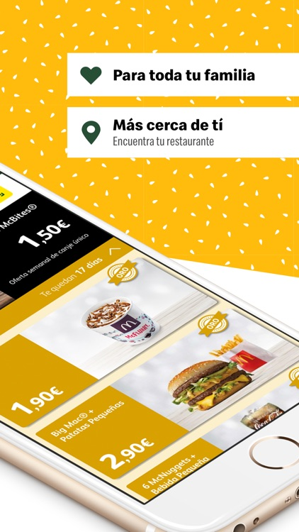 McDonald's España - Ofertas screenshot-1