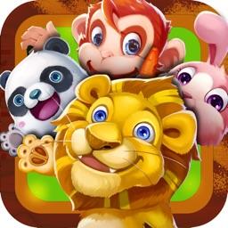 森林舞会动物园——动物绘画拼图