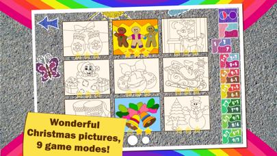 点击获取Math Coloring for kids Winter