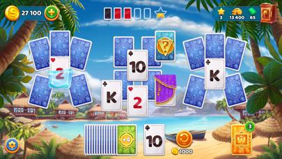 Solitaire Cruise ソリティア カードゲームのスクリーンショット1