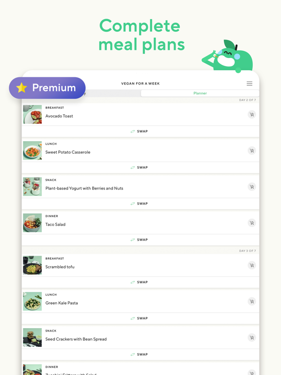 Lifesum - Healthier eating, better living screenshot