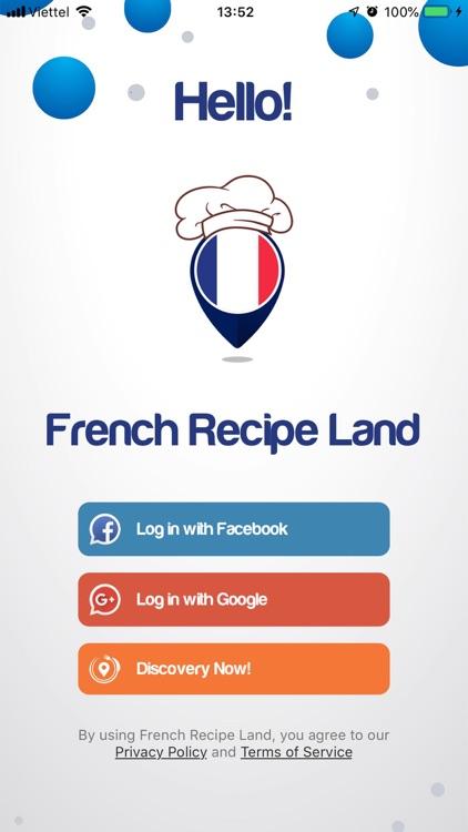 French Recipe Land screenshot-3