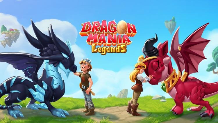 Dragon Mania Legends - Fantasy screenshot-0