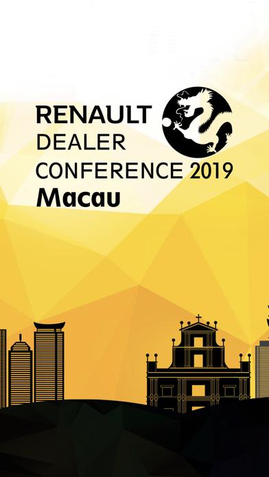 Renault Dealer Conference 2019 Screenshot